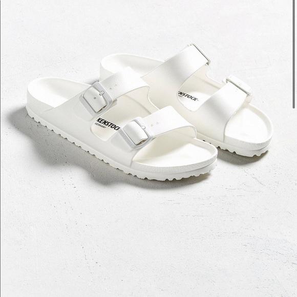 Birkenstock Shoes   Rubber White